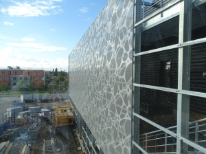 facade resillee vue depuis etage 14 septembre 2015
