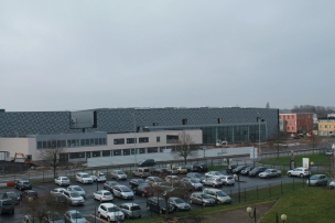 Nouveau bâtiment depuis Jeanne de Flandres (février 2016)