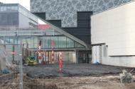 Jonction ancien et nouveau bâtiment (février 2016)